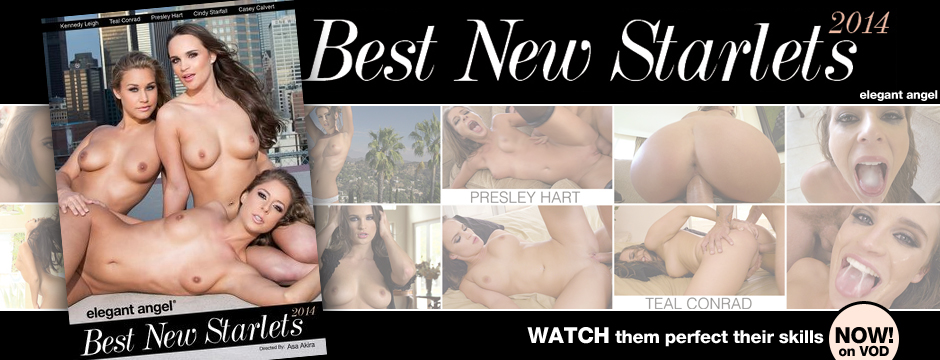 Watch Elegant Angel Best New Starlets 2014, streaming at the official Elegant Angel Store