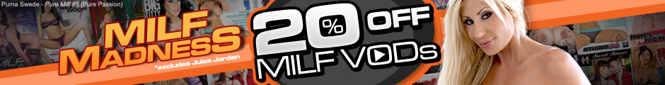 20% off all anal DVDs and VODs, shop now!