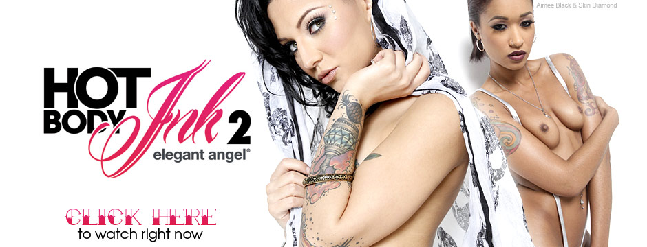 Watch Elegant Angel Hot Body Ink 2, streaming at the official Elegant Angel Store