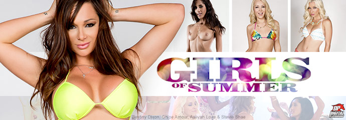 Shop now, Girls Of Summer from Digital Playground starring Alexis Adams and Destiny Dixon!
