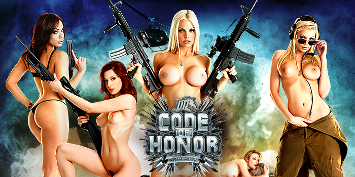 Watch Code of Honor Digital Playground stars Jesse Jane, Stoya, Riley Steele, Kayden Kross and more...