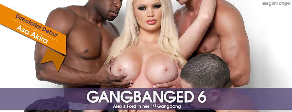 Watch Gangbanged 6 starring Alexis Ford from Elegant Angel